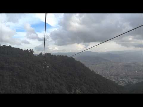Glimpses of Caracas from Cable Car