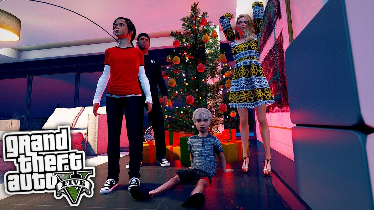 Weihnachten in Los Santos 😱 - GTA 5 Real Life Mod - YouTube