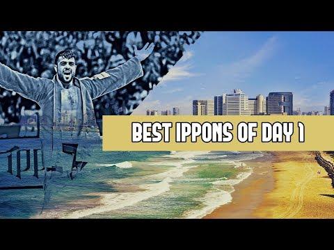 Best ippons in day 1 of Judo Grand Prix Tel Aviv 2019
