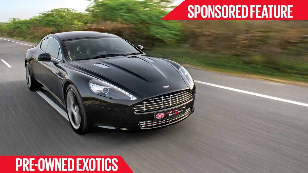 Certified PreOwned Exotics Aston Martin Rapide Sponsored - Aston martin certified pre owned