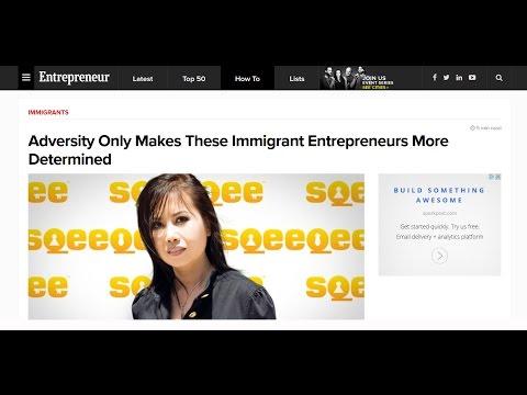 JENNY Q TA – CEO/Founder of Sqeeqee & Co-Founder of VCNetwork.Co – Interview w/ Deirdre Breakenridge