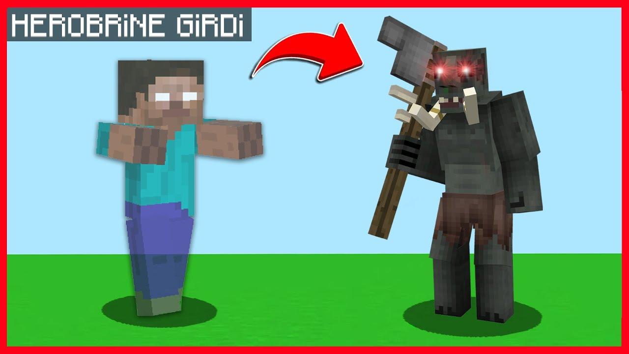 HUYSUZ'UN İÇİNE HEROBRİNE GİRİYOR! 😱 - Minecraft ZENGİN FAKİR HAYATI