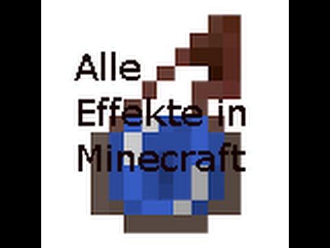 Alle Effekte in Minecraft - YouTube