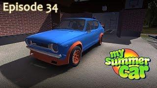 My Summer Car Episode 34 - RALLY TEST RUN