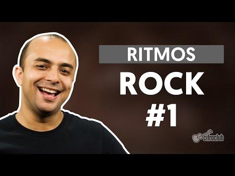 Ritmos - Rock #1 (aula de bateria)