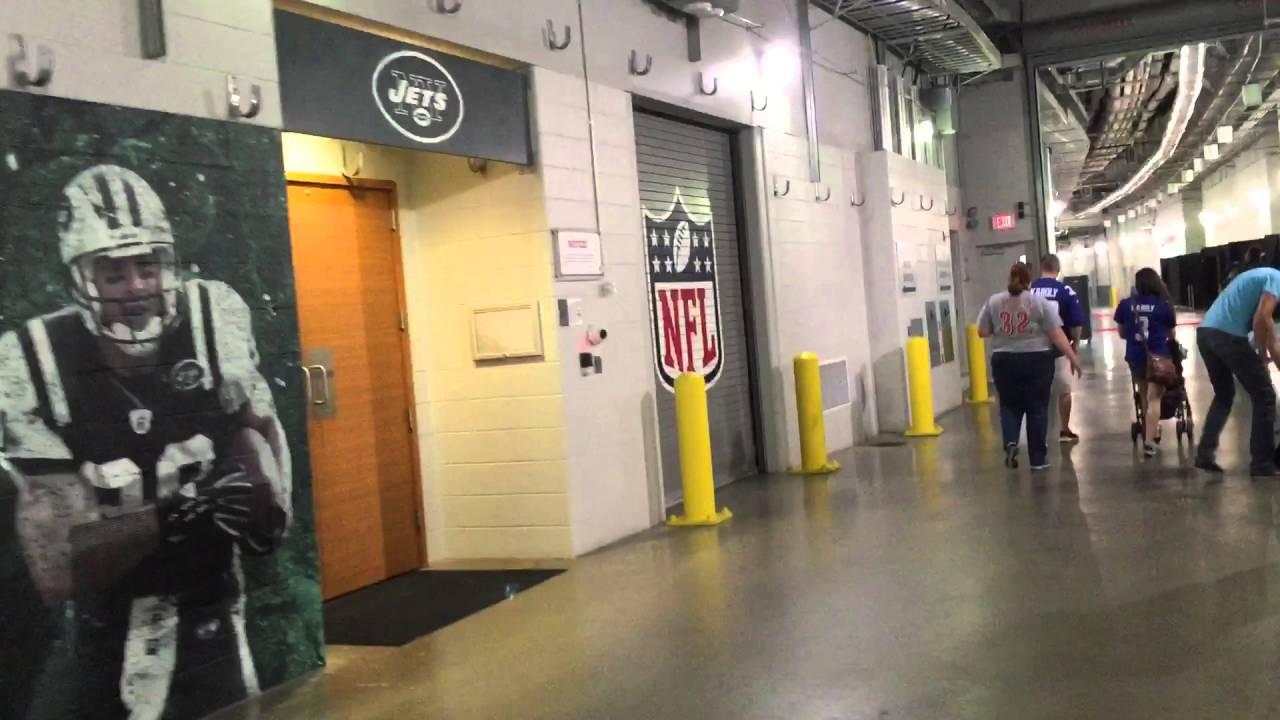 At T Stadium Locker Rooms