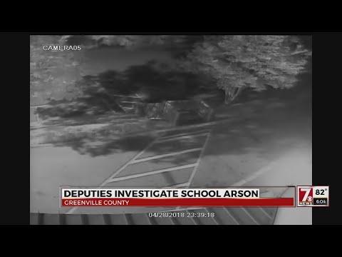 Help find 2 suspects in Camperdown Academy arson in Greenville Co.
