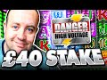 MAX BET on DANGER (High Stake Slots)