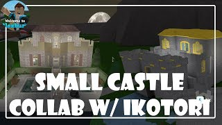 Roblox | SMALL CASTLE COLLAB w/ iKOTORI | Bloxburg
