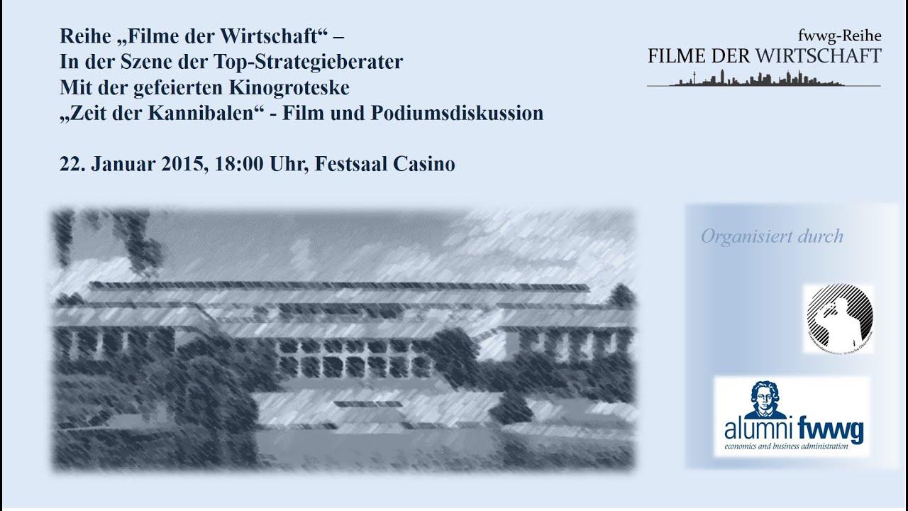 fwwg-Reihe Filme der Wirtschaft - Podiumsdiskussion zur Kinogroteske ...