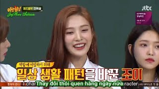 [Vietsub] Knowing Brothers @ Joy changed her eyebrows for drama
