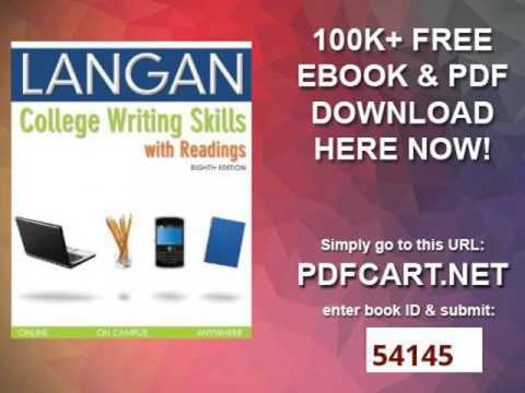 College writing skills with readings 8th edition youtube college writing skills with readings 8th edition fandeluxe Choice Image