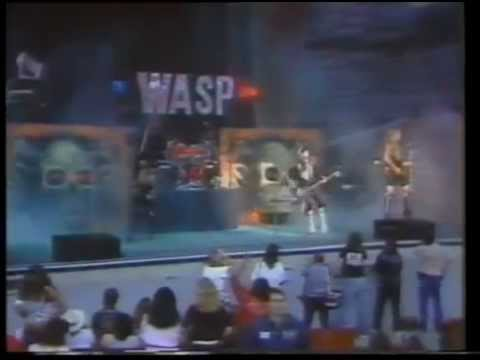 W.A.S.P - The Manimal 1987 Music Video Live...In the Raw HD