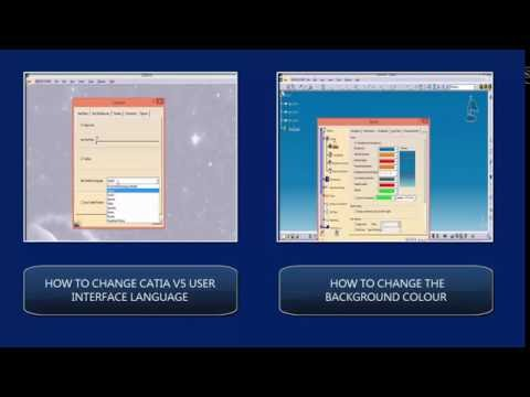 CATIA free basic online training  HOW TO CHANGE THE ICON SIZE
