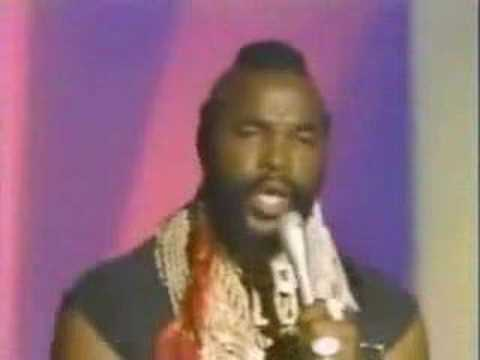 Mr T Treat Your Mother Right Youtube