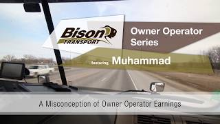 A Misconception of Owner Operator Pay