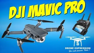 DJI MAVIC PRO PRESENTATION UNBOXING REVIEW FLIGHT TEST FRANCAIS FRENCH GEARBEST DRONE EXPRESSION
