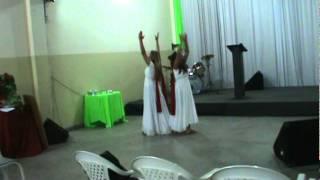 Coreografia  Amo o Senhor - Fernanda Brum
