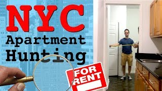 NYC Apartment TOUR -Apartment Hunting in Soho/Greenwich Village