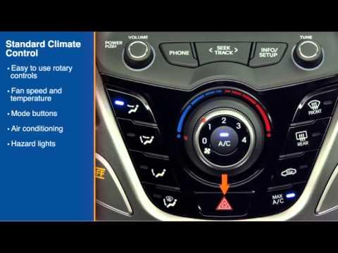 2016 Hyundai Veloster Climate Control Manual Youtube