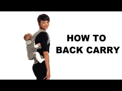 Ergo Back Carry | ADAPT | Erogbaby