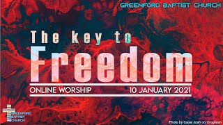 Greenford Baptist Church Sunday Worship (Online) 17 January 2021