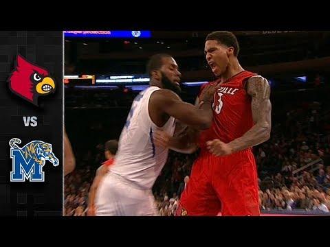 Louisville vs. Memphis Basketball Highlights (2017-18)
