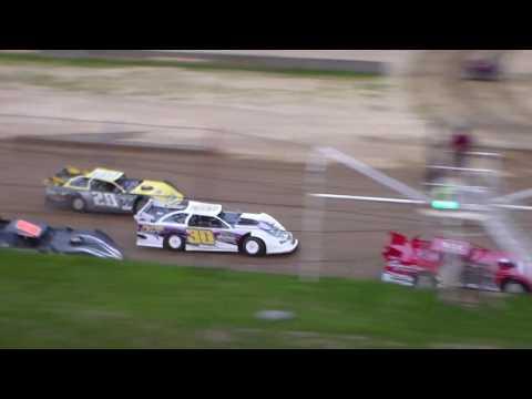Dog Hollow Speedway - 5/19/17 Super Late Model Heat Race #1