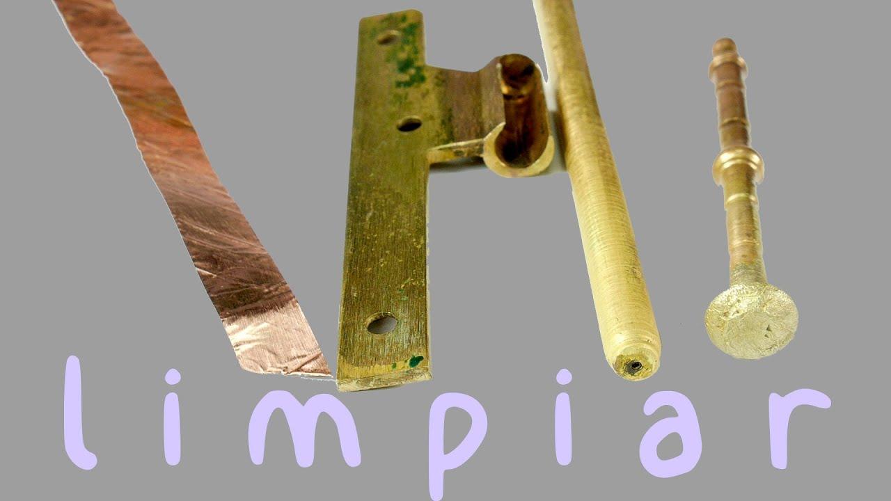 Limpiar cobre lat n y bronce doovi - Limpiar laton dorado ...