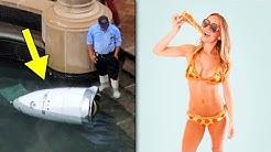 Vartijarobotti Hukuttaa Itsensä? Ensimmäiset Pizzasta Tehdyt Bikinit!