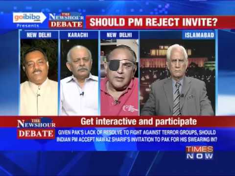 The Newshour Debate: Should PM Manmohan Singh reject Nawaz Sharif's invite? (Part 2 of 3)