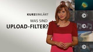 #kurzerklärt: Was sind Upload-Filter?