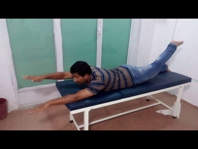 backbone exercise 2 by Chiropractor Aamir Shahzad CPT