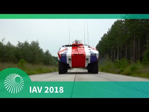 IAV 2018: Rheinmetall Defence UK Ltd - ARTEC partnership and Boxer 8x8 programme for the UK