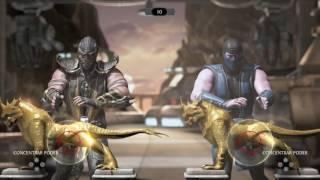 Mortal Kombat XL[gameplay en PS4]desafio de fuerza,con Super Maxstar!!!