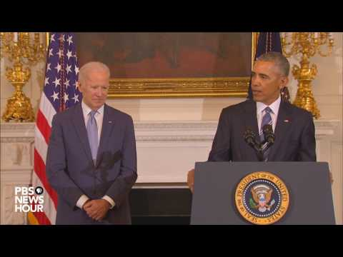 Watch full Medal of Freedom ceremony for Vice President Joe