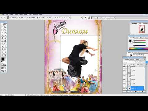 Adobe Photoshop Создаем подложку