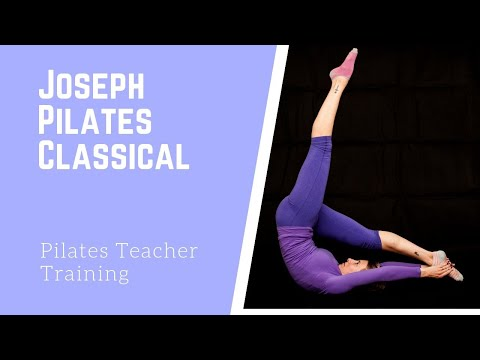 ( Leg Circles ) Joseph Pilates Original 34 Classical Mat Workout Exercise routine (Advanced)