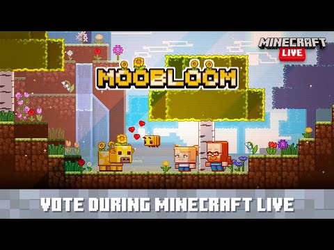 Minecraft Live: Vote for the Moobloom!