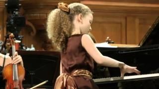 Download Varvara Kutuzova 10yo БЗК Mozart Concerto №12 P2,3 MP3 song and Music Video
