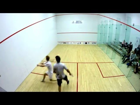 Seattle Squash Open 2016 Final - Andrew Schnell (CAN) vs Vikram Malhora (IND)