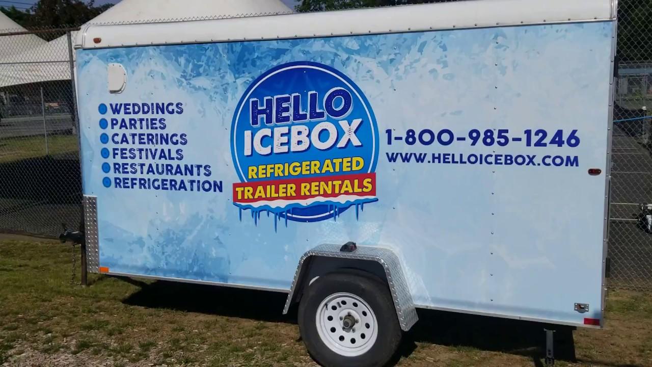 Hello Icebox – Refrigerated Trailer Rentals – Refrigerated