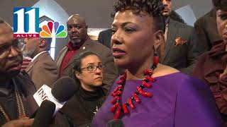 Bernice King draws inspiration from her dad for MLK day speech