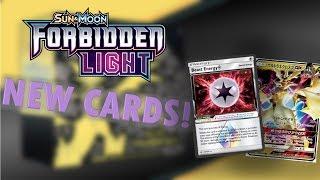 New Cards in Pokemon TCG Forbidden Light!