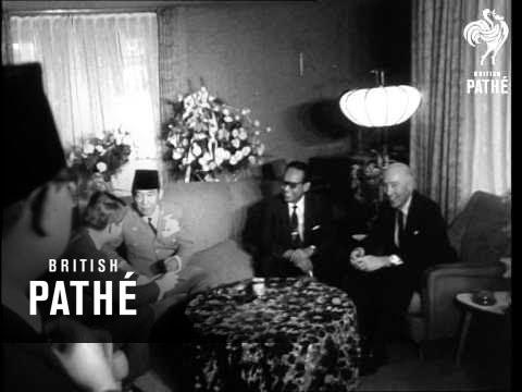 Robert Kennedy Meets President Sukarno (1964)