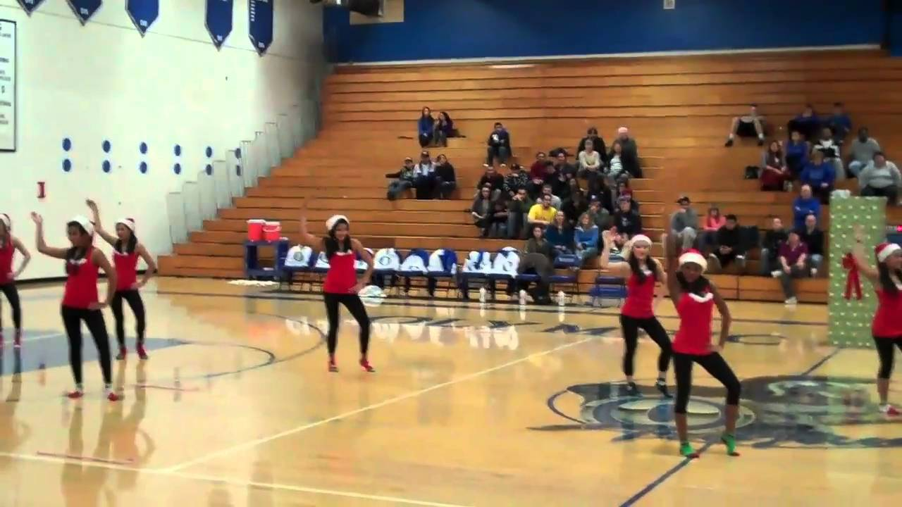 Hip Hop Dance Team- All I want for Christmas is you - YouTube