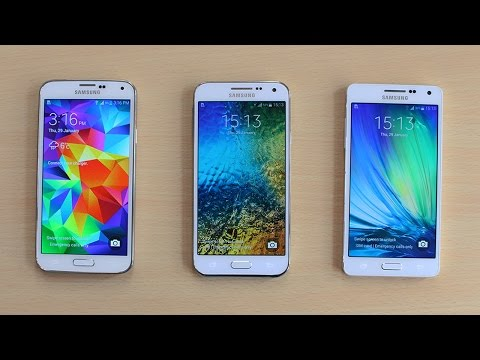 Samsung Galaxy A5 vs Galaxy E5 vs Galaxy S5 Speed Test