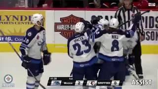 Sami Niku 1G 1A vs Grand Rapids | Apr 25 2018