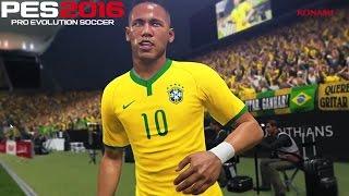 PES 2016 - Gameplay, Novo Trailer, Neymar, Master League e Novidades (PS4/XONE/PC/PS3/X360)