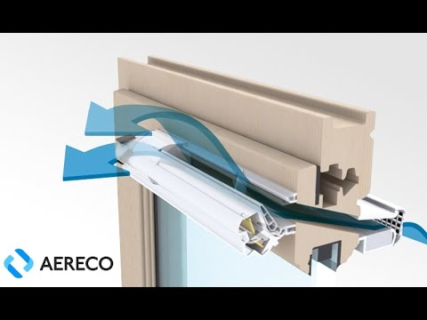Demand controlled ventilation. Aereco develops innovative ventilation solutions for residential and office buildings.
